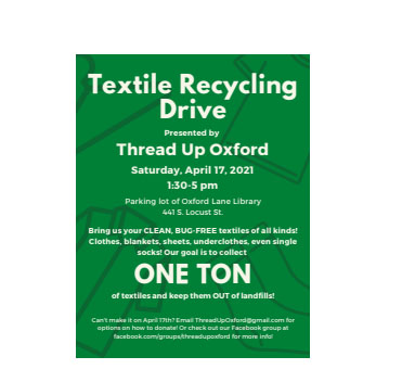 Thread Up Oxford promotes clothing upcycling initiative
