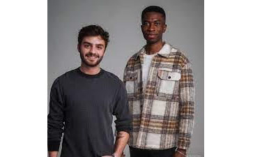 Mad Rabbit creators Oliver Zak (left) and Selom Agbitor are 2019 Miami University graduates who cooked up their first batch of Mad Rabbit Tattoo Balm in Zak's Oxford apartment.