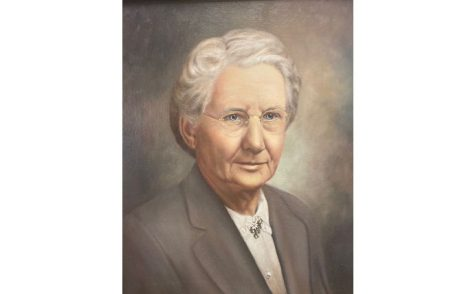 Maud Marshall's portrait was hung in the Marshall Elementary School library when the school was dedicated in 1967.