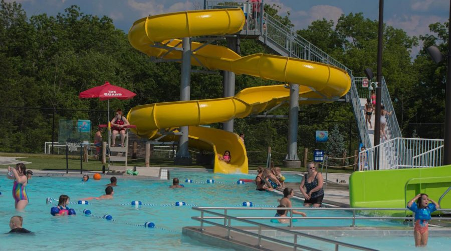 A scene from the Oxford Aquatic Center in pre-COVID times, when distancing and capacity limits were not required. The center plans to raise capacity levels this summer from what they were in 2020.