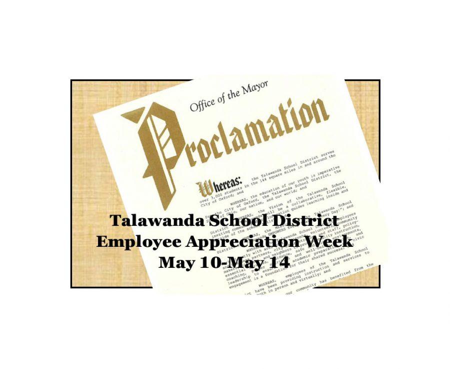 Oxford mayor proclaims Talawanda Employee Appreciation Week