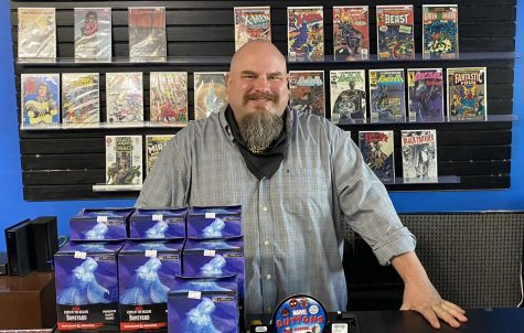 Future Great Comics owner Brian Levick is thrilled to bring his store to Oxford.