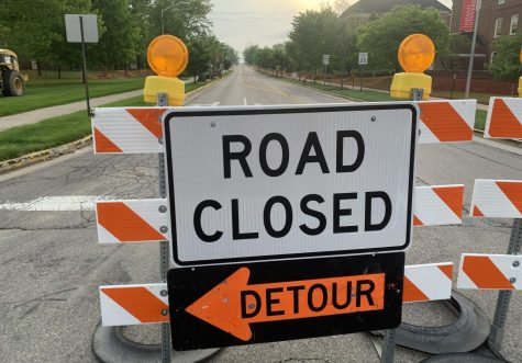 Reconstruction of High Street will  detour traffic until Aug. 19.