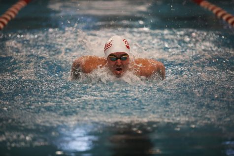 A powerful freshman class led the Miami Men's Swimming and Diving Team to the MAC championship