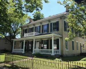 The historic Alexander House, 22 N. College Ave., is now zoned to be a restaurant/church.
