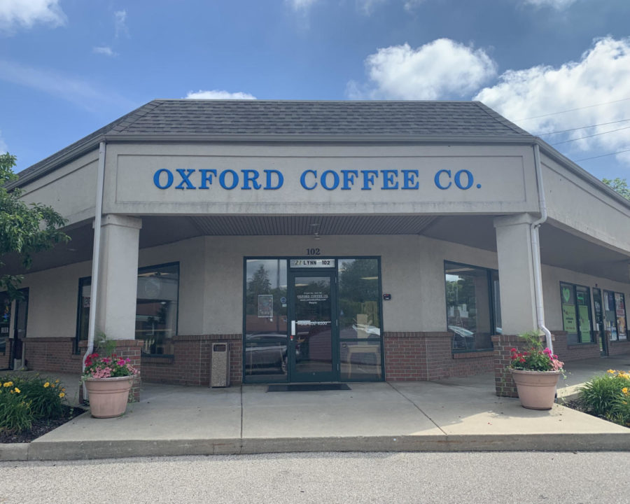 Despite discussing relocating, Oxford Coffee Co. stayed in the same location at 21 Lynn Street, Suite 102, right by El Burrito Loco.
