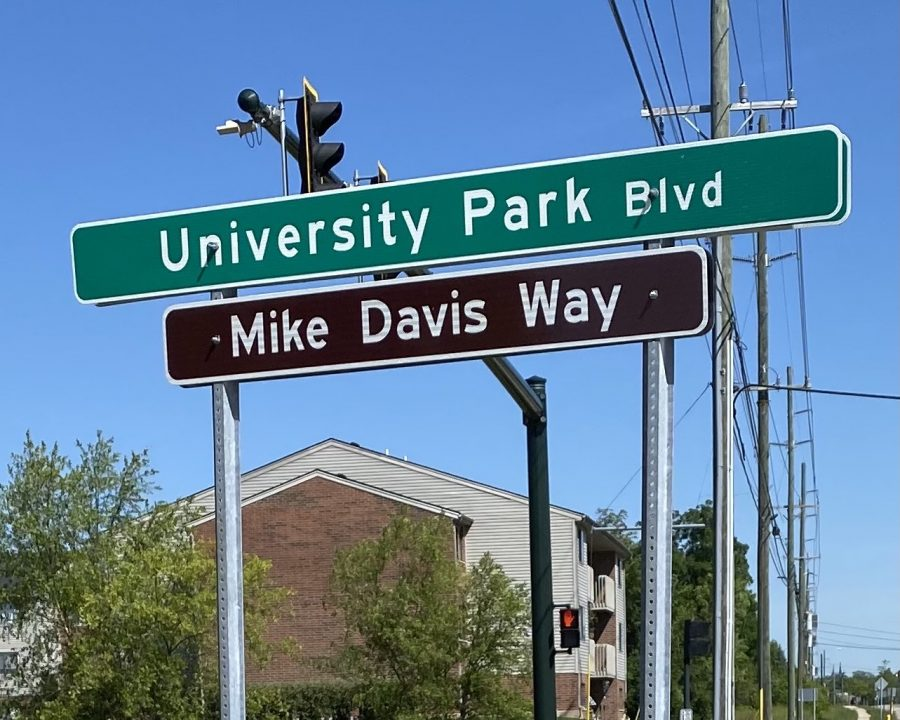 Mike Davis Way is the new name on of the streets leading to Talawanda High School from U.S. 27.
