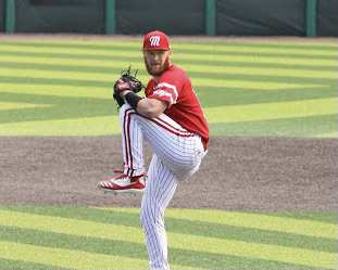 Bachman, who just finished his junior year with the Miami RedHawks, is a top pitching prospect in the Major League Baseball draft.