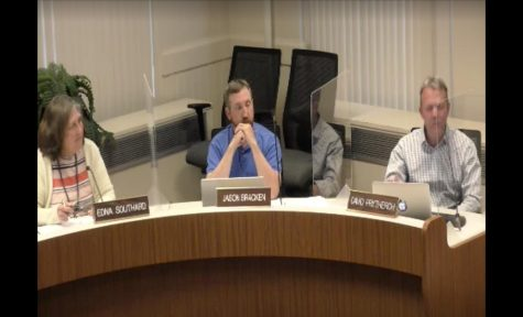 Oxford City Council met face-to-face on June 1, for the first time since March, 2020. Council members were in the same room but were separated by plastic shields.