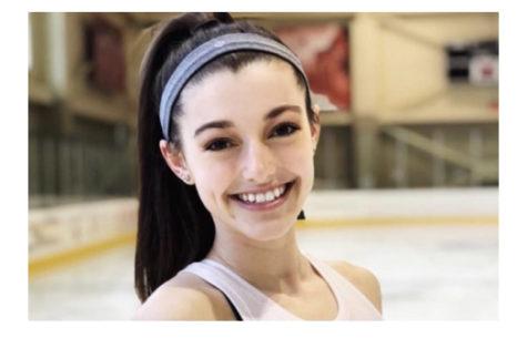 Sophia Lapeire on the ice at Miami's Goggin Ice Arena.