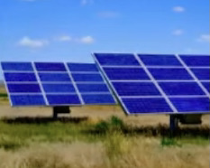 SOLAR photo #1 -- An image of a solar panel included in a presentation Oxford City Councilman David Prytherch made to council in April. The city has asked for proposals to construct an array of such panels on a 20-acre site.