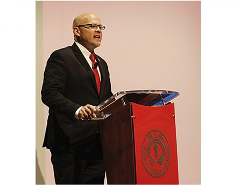 Miami President Gregory Crawford to give annual State of the University speech Sept. 30.