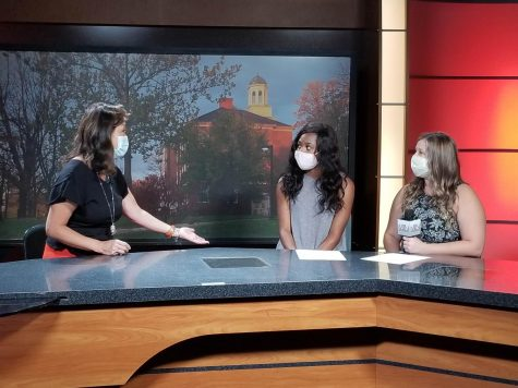 Journalist Juju Chang speaks with anchors Nia Hinson and Jenna Landgraf of Miami Television News on her visit to Miami where she spoke as part of the Lecture Series.