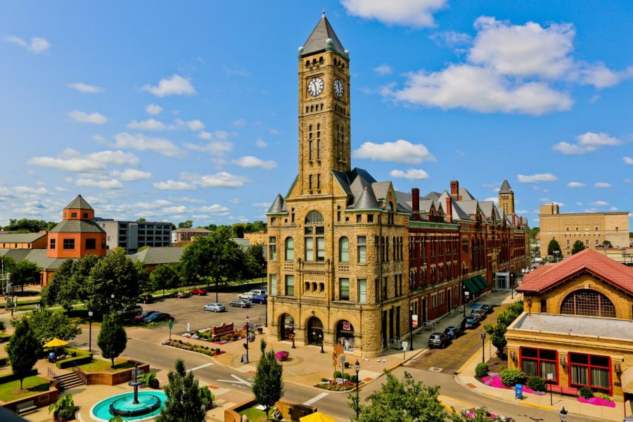 An+artist%E2%80%99s+rendering+of+revitalized+downtown+Springfield%2C+Ohio.+