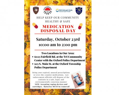 Oxford participates in medication disposal day